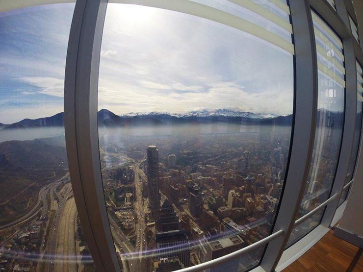 Visita ao Sky Costanera em Santiago, Chile (Foto: Esse Mundo É Nosso)
