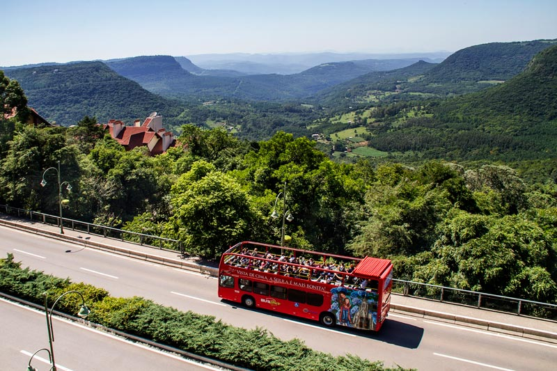 BusTour Gramado e Canela: Ônibus turístico na Serra Gaúcha (Foto: Divulgação)