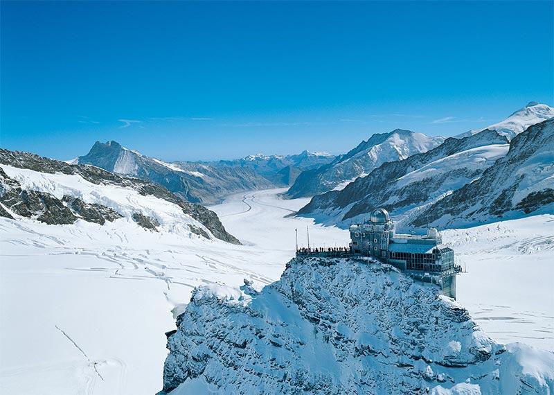 Visita a Jungfraujoch, Suíça - O Topo da Europa (Foto: Divulgação/Jungfraujoch)