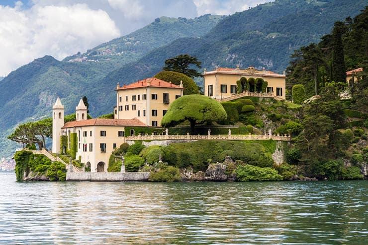 Cenários de Star Wars que existem de verdade - Villa del Balbianello, Itália (Foto via Shutterstock)