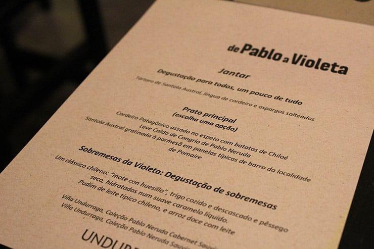 De Pablo a Violeta em Santiago (Foto: Esse Mundo é Nosso)