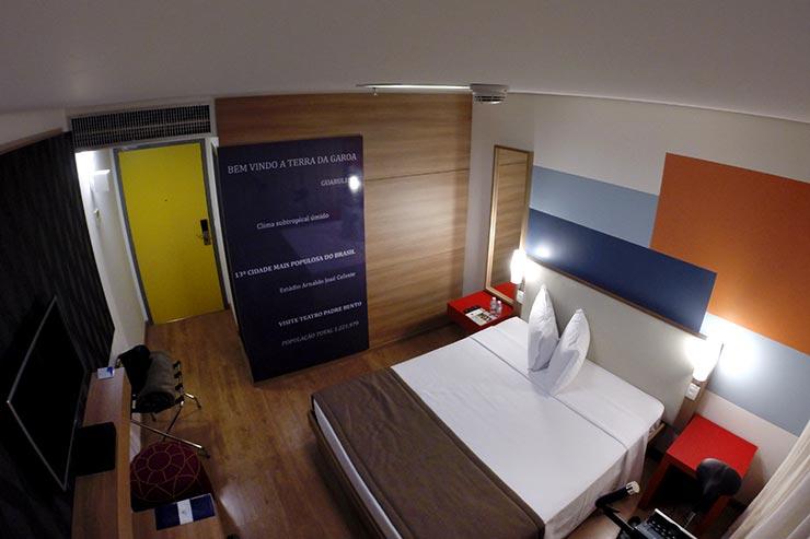 Hotéis no aeroporto de Guarulhos: TRYP by Wyndham (Foto: Esse Mundo É Nosso)