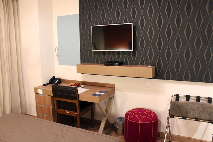 Hotel no Aeroporto de Guarulhos: TRYP by Wyndham São Paulo Guarulhos Airport (Foto: Esse Mundo É Nosso)