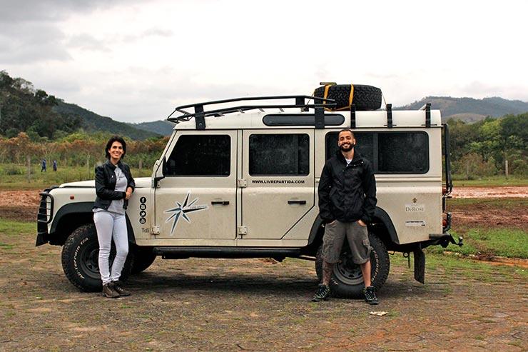 Esse casal largou tudo pra viajar o mundo (Foto: Divulgação)