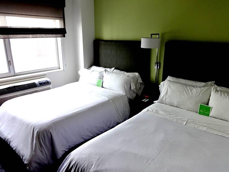 Hotel em Nova York: Element New York Times Square (Foto: Esse Mundo é Nosso)