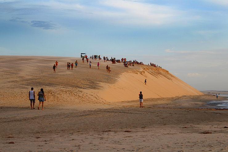 Duna do Pôr do Sol em Jericoacoara (Foto: Esse Mundo É Nosso)