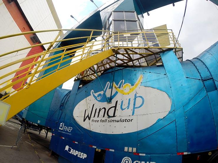 Túnel de vento em São Paulo: Wind Up (Foto: Esse Mundo É Nosso)