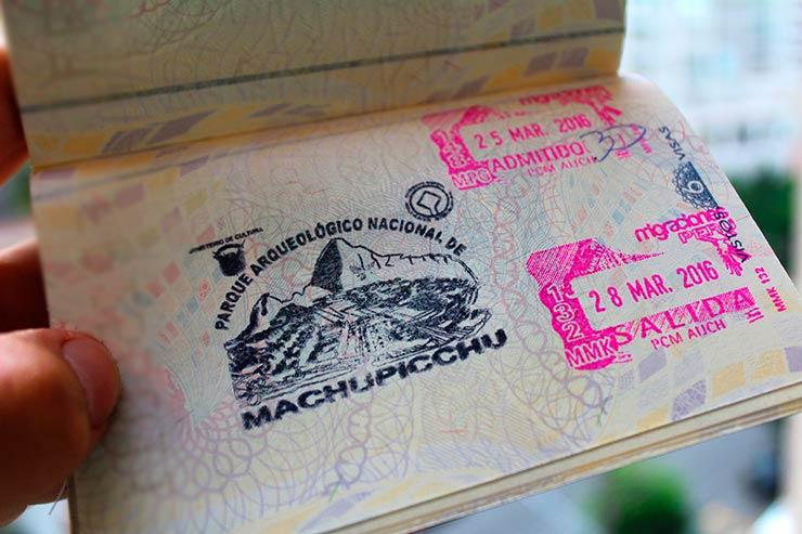 Viajar pra Machu Picchu - Carimbo (Foto: Esse Mundo É Nosso)