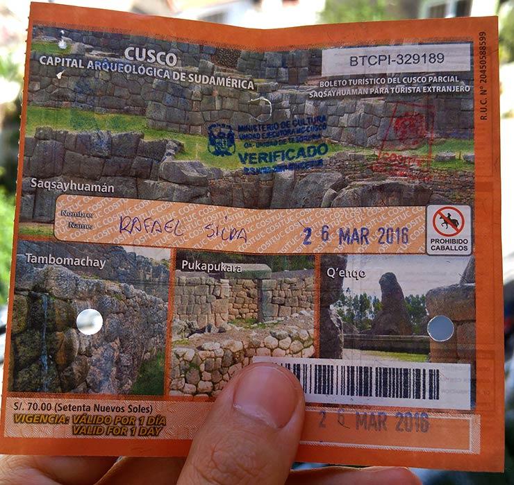 Boleto Turístico de Cusco (Foto: Esse Mundo É Nosso)