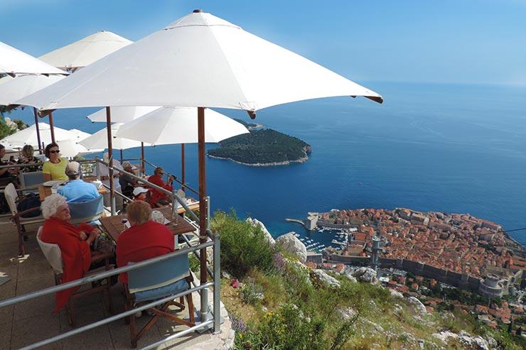 O que fazer em Dubrovnik, Croácia: Dubrovnik Cable Car (Foto: Esse Mundo É Nosso)