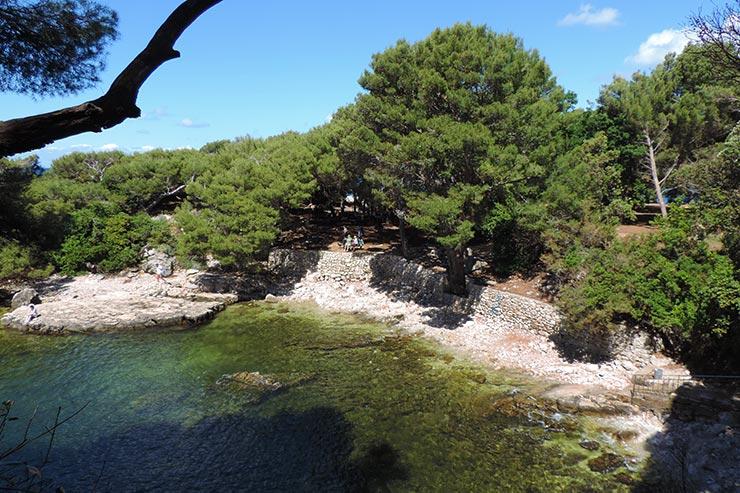 O que fazer em Dubrovnik, Croácia: Lokrum (Foto: Esse Mundo É Nosso)