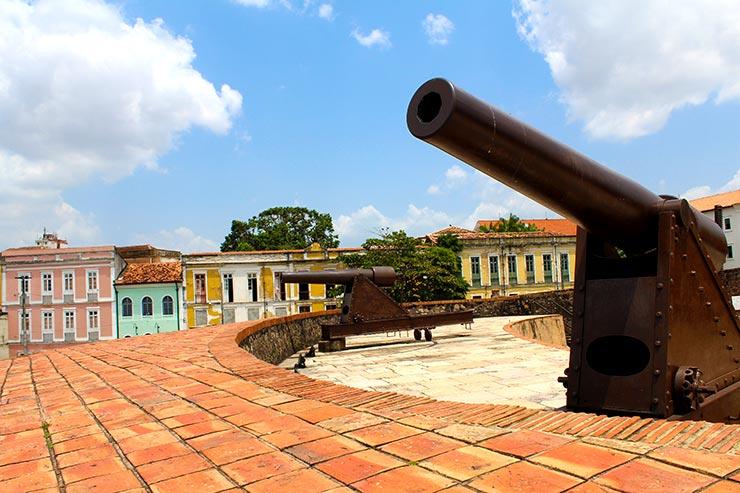 O que fazer em Belém: Forte do Presépio (Foto: Esse Mundo É Nosso)