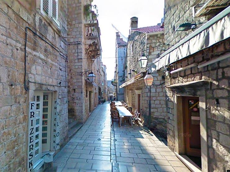 Onde comer em Dubrovnik, Croácia (Foto: Reprodução/Google Street View)