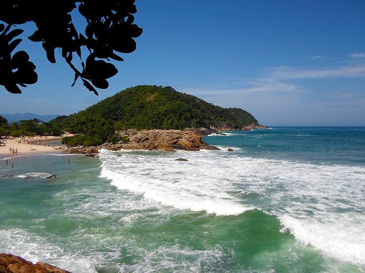 Praias de Paraty - Praia do Meio em Trindade (Foto: Cortesia de Claudia Zamora)