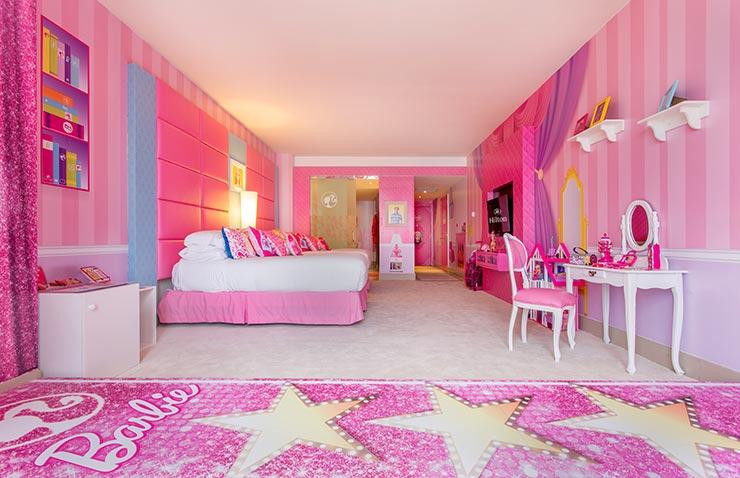 Quarto da Barbie - Hilton Panamá (Foto: Divulgação)