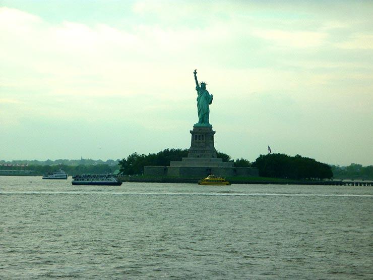 Estátua da Liberdade (Foto: Esse Mundo é Nosso)