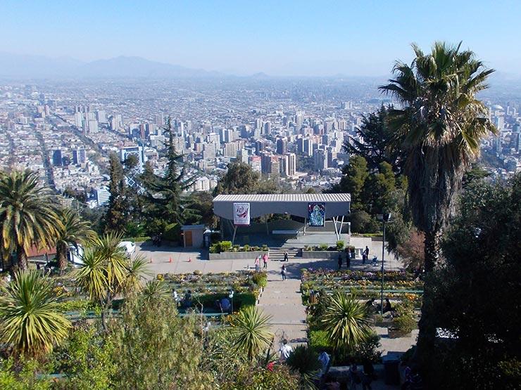 Cerro San Cristóbal (Foto: Esse Mundo é Nosso)