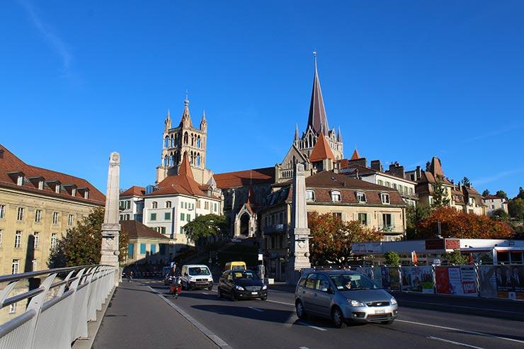 Dicas de Lausanne, Suíça - Pont Charles Bessières (Foto: Esse Mundo É Nosso)
