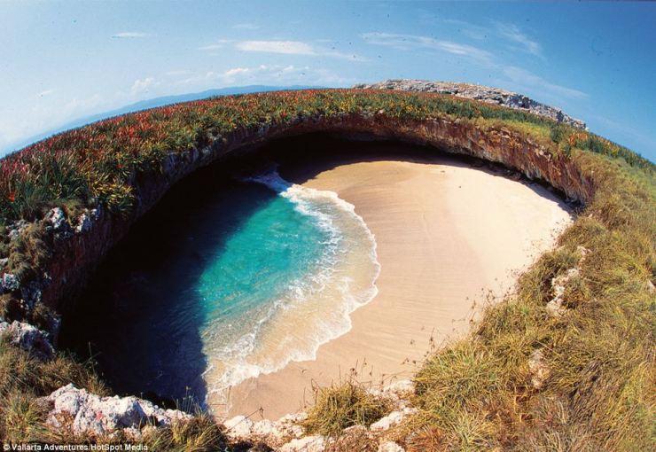Playa Escondida (Foto: DIvulgação/Vallarta Adventures)