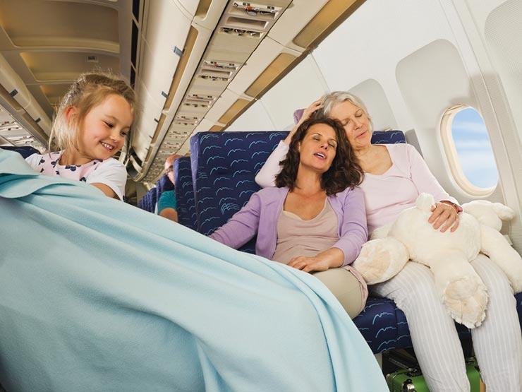 Germes no avião (Foto: Shutterstock)