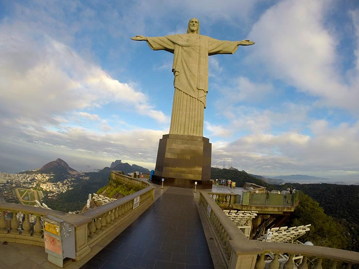 Cristo Redentor (Foto: Esse Mundo é Nosso)
