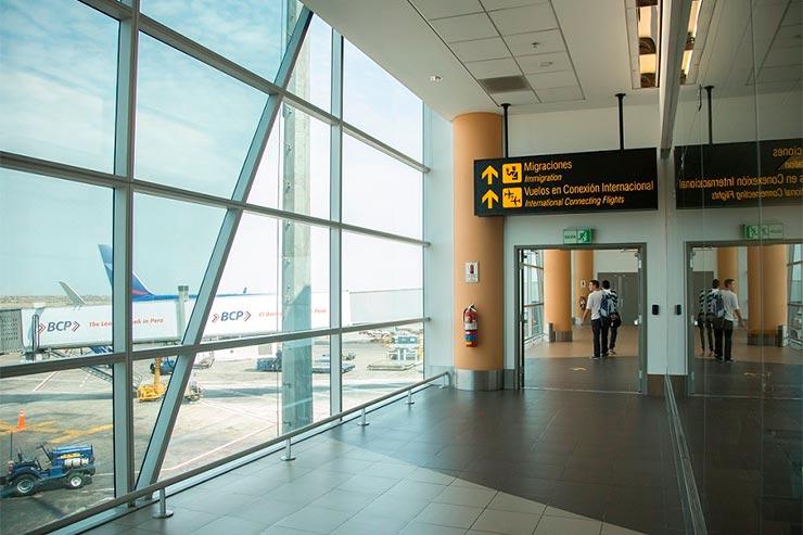 Conexão em Lima: O que dá pra fazer? (Foto: Divulgação Aeropuerto de Lima)