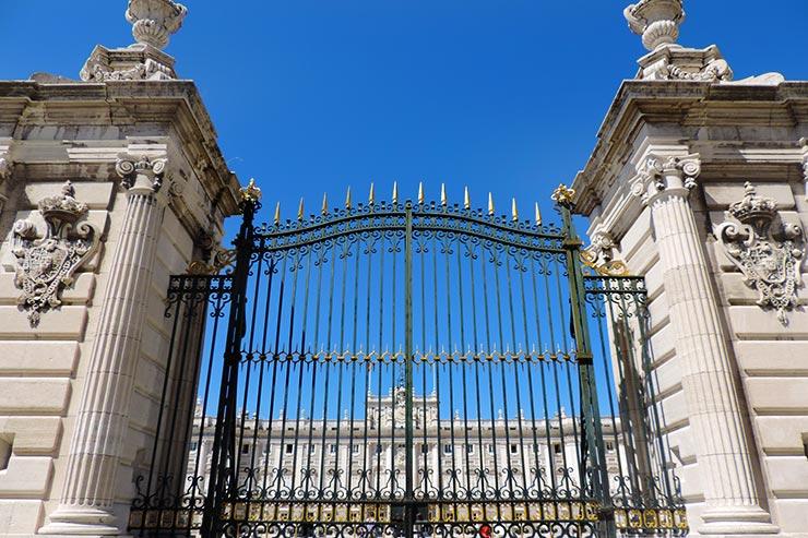 O que fazer em Madrid: Palacio Real de Madrid (Foto: Esse Mundo É Nosso)