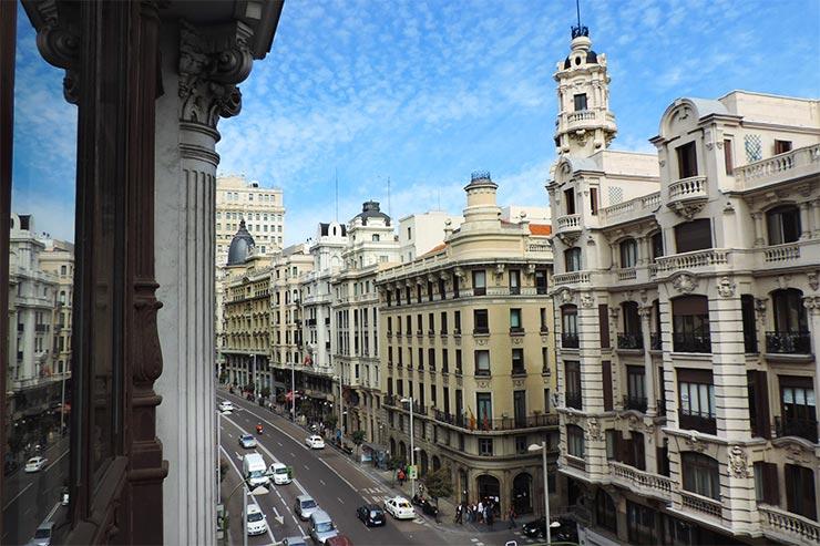 O que fazer em Madrid: Gran Vía (Foto: Esse Mundo É Nosso)