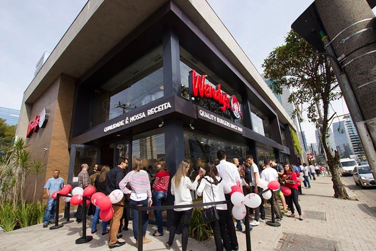 Wendy's em São Paulo (Foto: Divulgação)