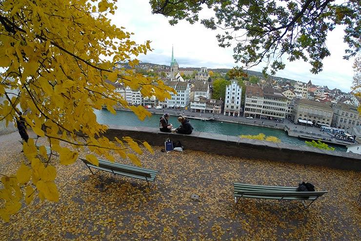 As melhores cidades para se viver no mundo: Zurique (Foto: Esse Mundo É Nosso)