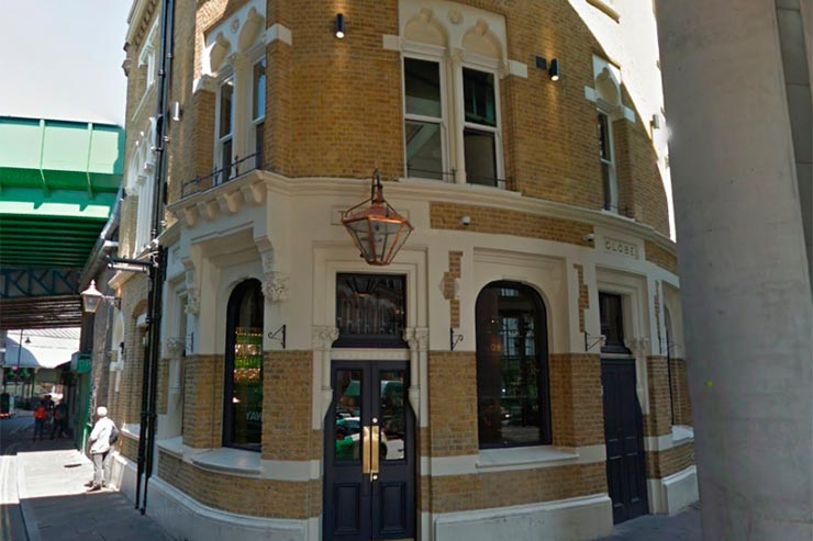 Bridget Jones em Londres (Foto: Google Street View
