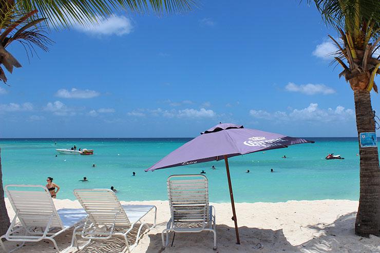 Melhores praias de Barbados: Dover Beach (Foto: Esse Mundo É Nosso)