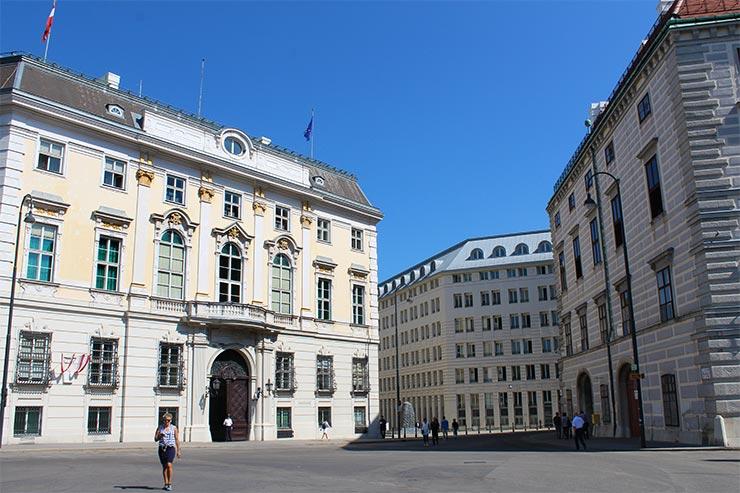 Pontos turísticos de Viena: Hofburg (Foto: Esse Mundo É Nosso)