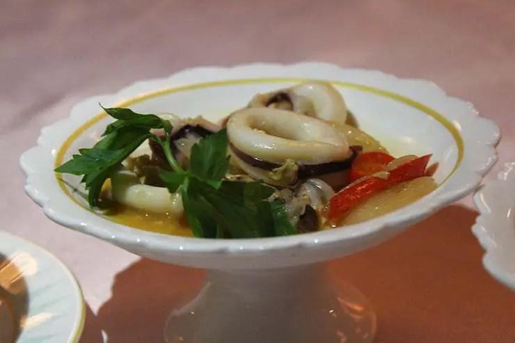 Jantar no Mandarin Oriental Bangkok (Foto: Esse Mundo é Nosso)