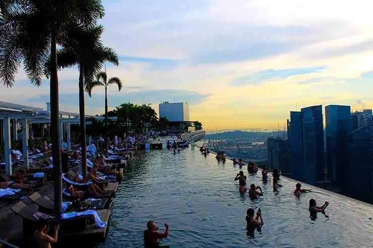 Piscina de Singapura (Foto: Esse Mundo é Nosso)