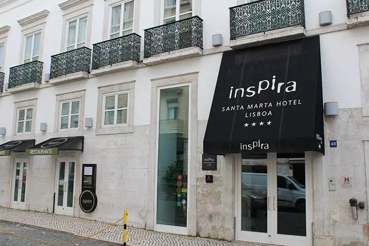 Dica de hotel em Lisboa: Inspira Santa Marta Hotel & SPA (Foto: Esse Mundo É Nosso)