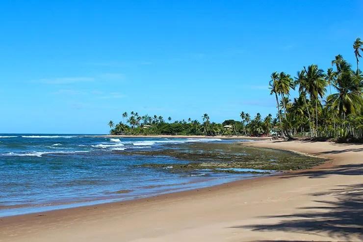 Melhores praias de Maraú, Bahia - Praia dos Três Coqueiros (Foto: Esse Mundo É Nosso)
