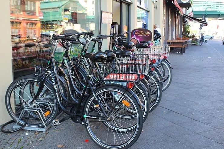 De bicicleta em Berlim (Foto: Esse Mundo É Nosso)