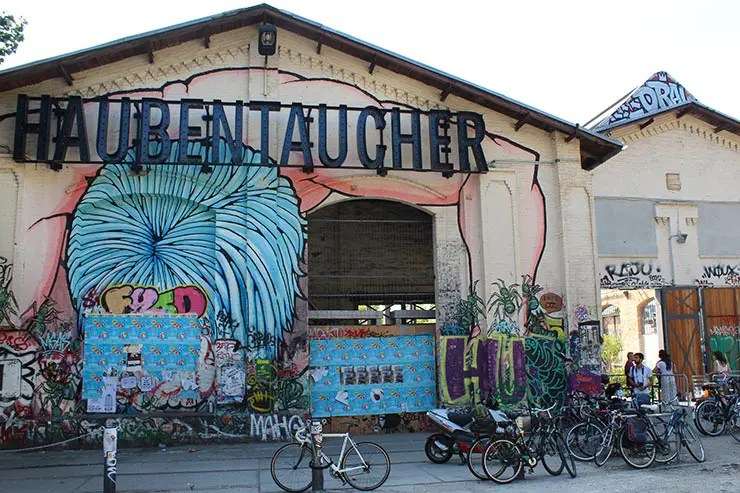 De bicicleta em Berlim: RAW-Gelände (Foto: Esse Mundo É Nosso)