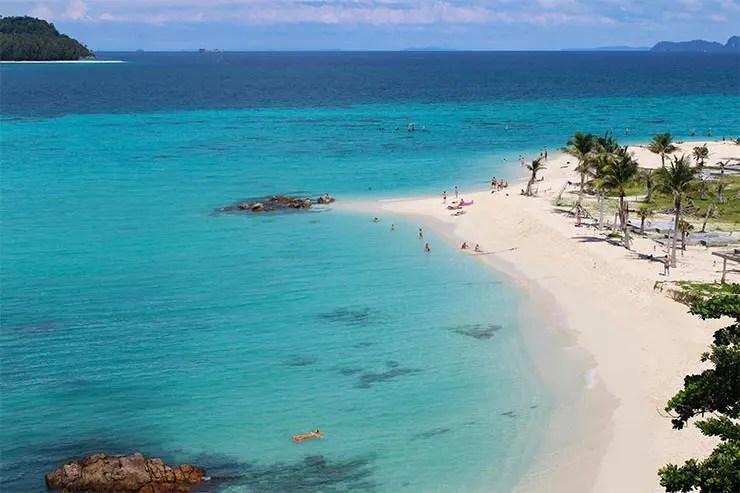 Melhores praias da Tailândia - Sunrise Beach, Koh Lipe (Foto: Esse Mundo É Nosso)