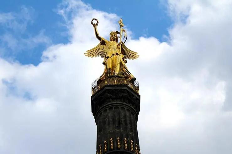 Mirantes em Berlim: Coluna da Vitória (Foto: Esse Mundo É Nosso)