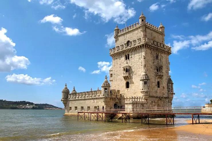 O que fazer em Belém, Portugal - Torre de Belém (Foto via Shutterstock)