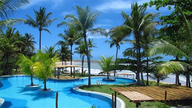 Praia do Espelho em Trancoso, Bahia: Pousada do Outeiro (Foto: Divulgação)
