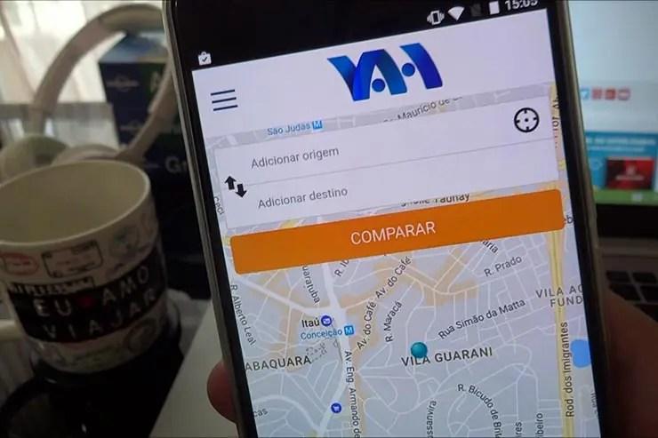 Vah: Aplicativo compara preços de Uber, 99, Cabify e outros (Foto: Esse Mundo É Nosso)