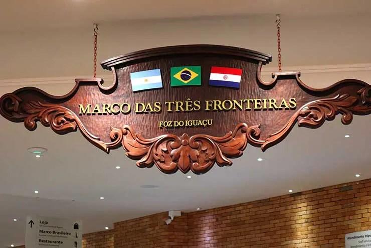 Marco das Três Fronteiras (Foto: Esse Mundo é Nosso)