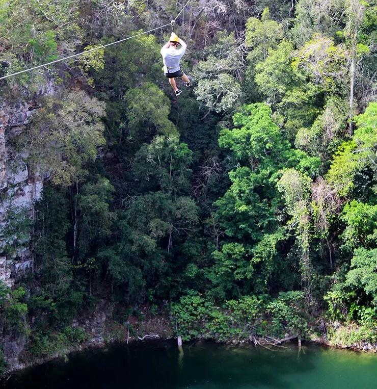 Cenotes de Miguel Colorado, Campeche - México (Foto: Esse Mundo É Nosso)