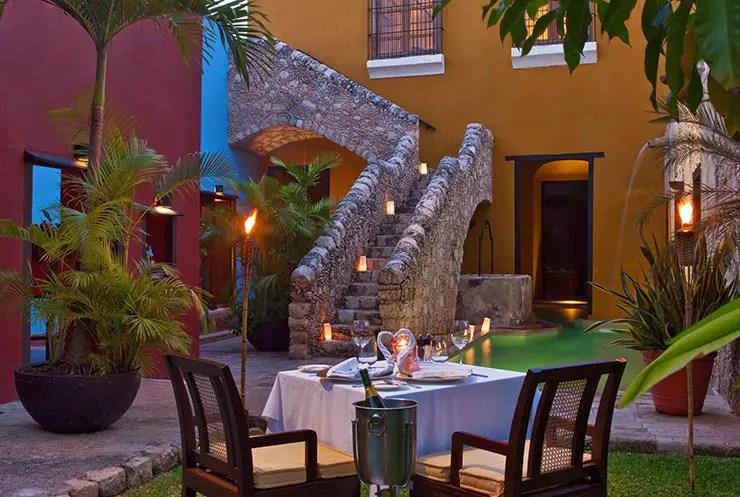 Onde comer em Campeche, México: Hacienda Puerta Campeche (Foto: Divulgação)