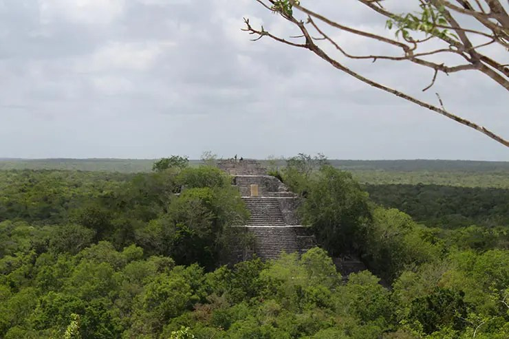 Dicas de Campeche, México: Calakmul (Foto: Esse Mundo É Nosso)