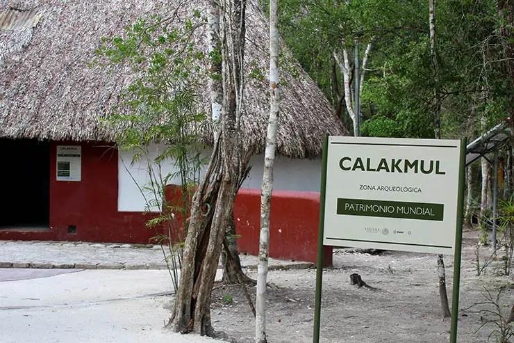 Sítio Arqueológico de Calakmul, México (Foto: Esse Mundo É Nosso)
