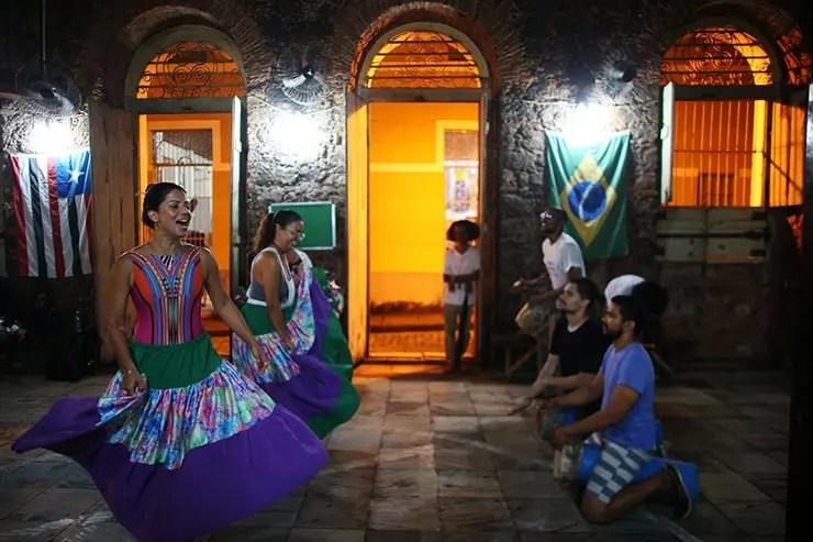 Festa Junina de São Luís - Oficina de Percussão Maranhense (Foto: Roberto Castro/Mtur)